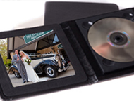 Prestige Wedding DVD case with photo print